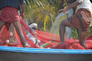 Marari Beach Fishermen